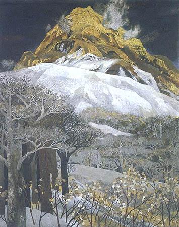 日本の画家 大矢紀 日本画 絵画 岩彩